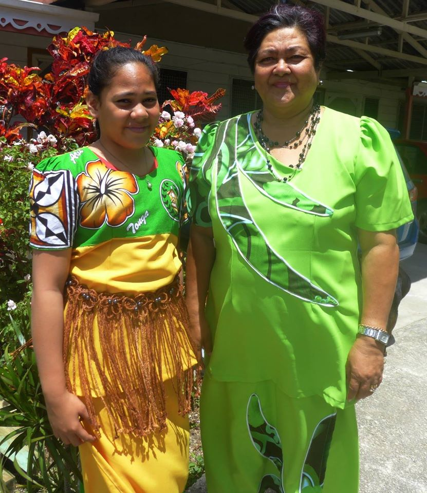 Tongan landlady and her granddaughter