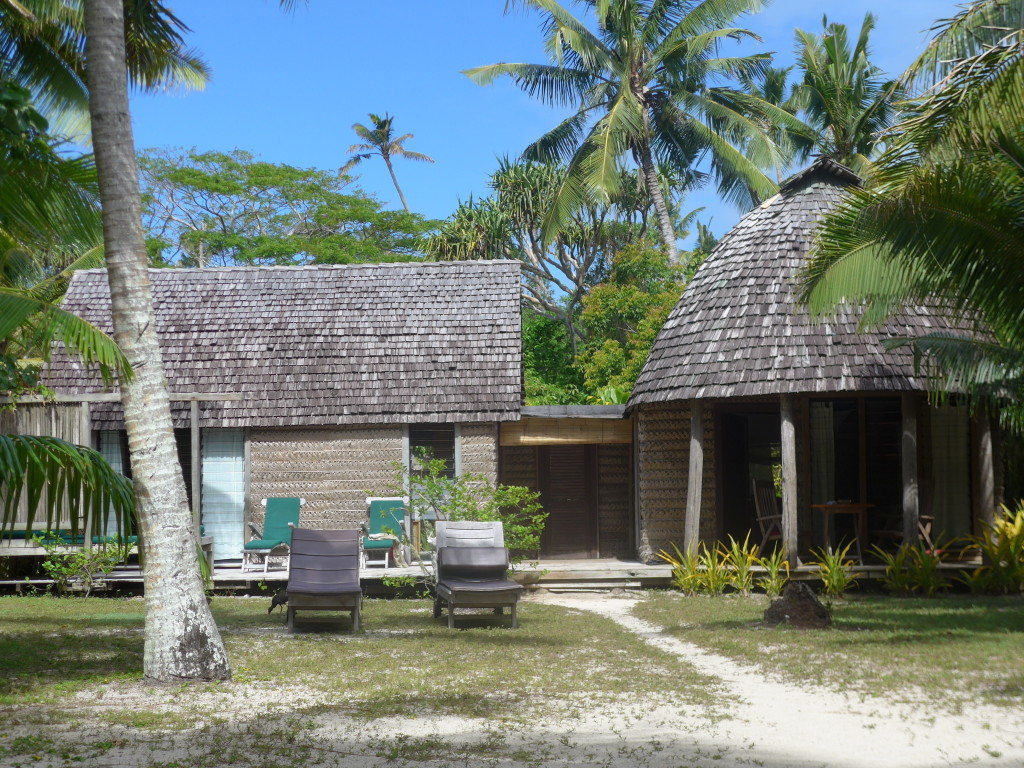 Our fale on Fafá Island with private yard.